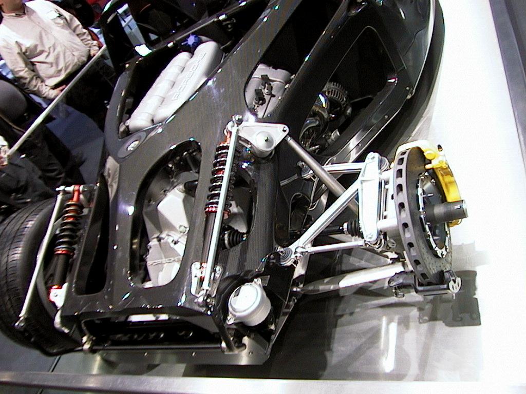 Porsche Carrera Gt Rear on Vw Beetle Race Engine